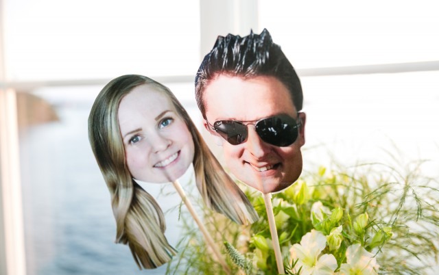 Bröllopsfoto -image